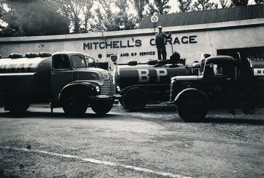 Refilling-tanks-at-mitchell-garage