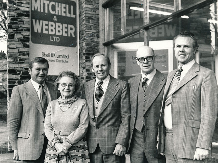 Ted-Ruby-webber-Jim-Mitchell-bert-bro-Bet-Roy-outside-fal-depot